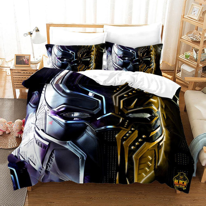 3D Customize Bedding Set Black Panther Bedding Set Duvet Cover Set-Panter Bed set