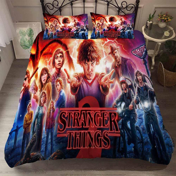 3D Customize Comforter Stranger Things Bedding Set Home Decor Bed Covers-Stranger Things Bed set-simphouse