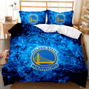 Golden State Warriors Duvet Cover Set Comforter Bedlinen BASKETBALL Bedding NBA Bed Set