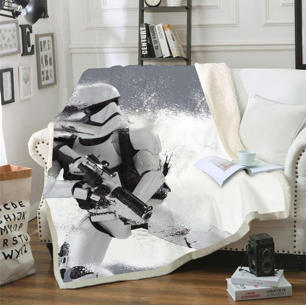 3D Printed Star Wars Bedding Blanket for Livingroom