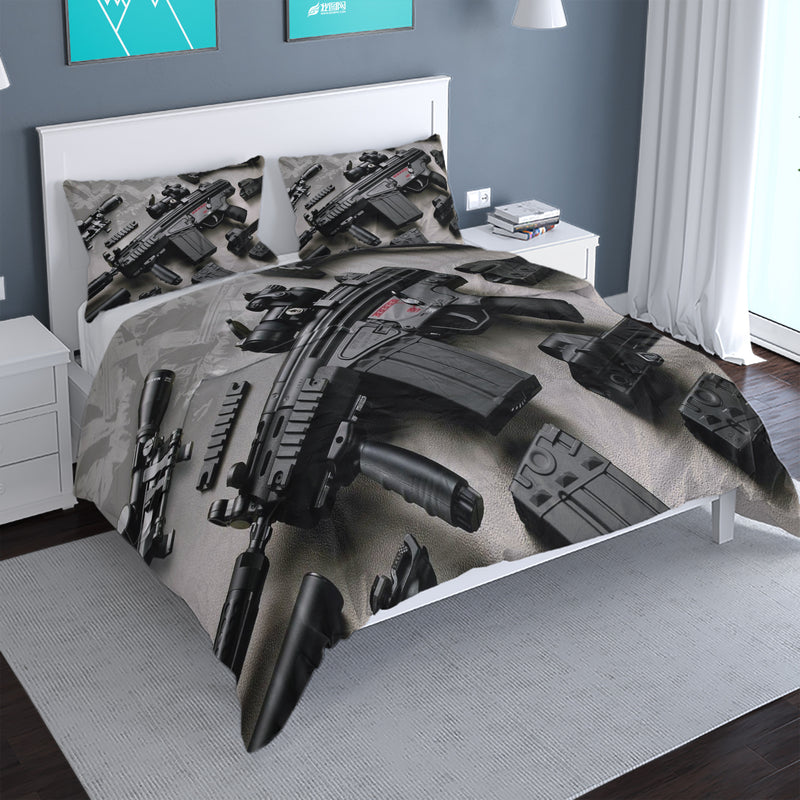 Game Counter-Strike Duvet Cover Set CSGO Comforter bedline Sets Bedding Set Boys-CSGO Duvet Cover Set