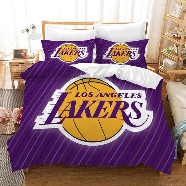Quilt-Covers Kobe Bryant Bedding Set 3D Customize Duvet Cover Set Bedroom Set Bedlinen Pillowcases Comforter Bed Set-Kobe Bryant Bedding Set-simphouse