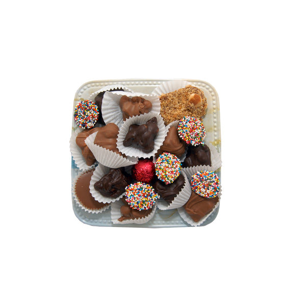 GIFT TRAY: HALF POUND ASSORTED CHOCOLATES