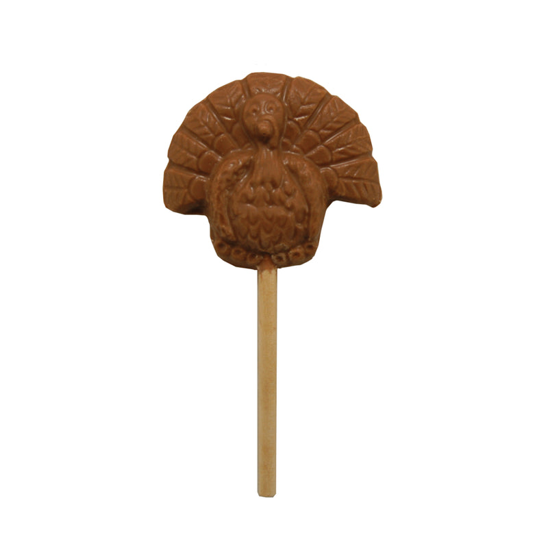 Milk Chocolate Turkey Pop