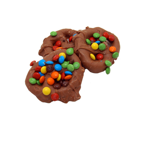 M&M Chocolate Pretzels