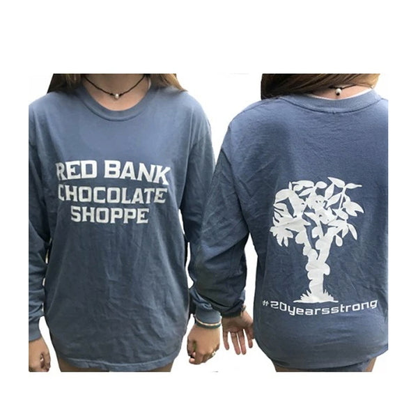 Red Bank Chocolate Shoppe Long Sleeve T-Shirt