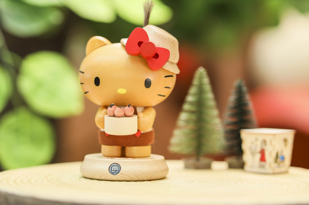 Müller・Hello Kitty *Worldwide Limited Edition Smoking Figurine* (Handmade in Germany)