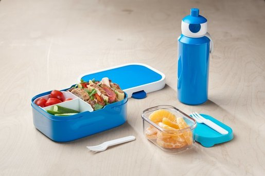 Mepal Pop-Up Bottle + Campus Lunchbox Set
