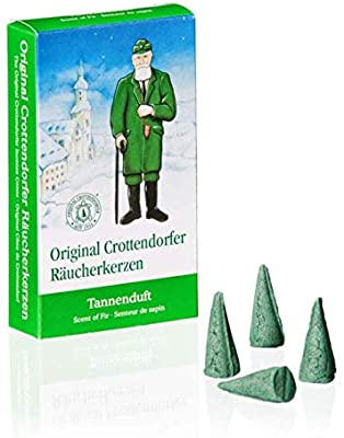 Incense candle Fir scent fragrance Crottendorf