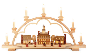Candle arch ''A Colonial Village''