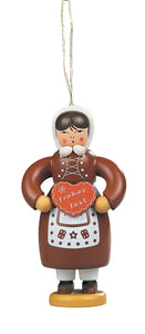 Christmas tree decoration, Gingerbread woman