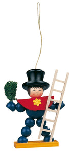 Christmas tree decoration, Little plum boy (charm)