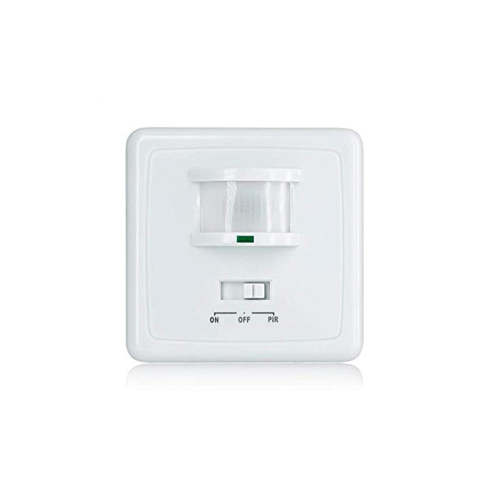 Quick Sense(QS-14): PIR Wall Mounted Hidden Infrared Motion Sensor Switch with on/off Button, Standard Size