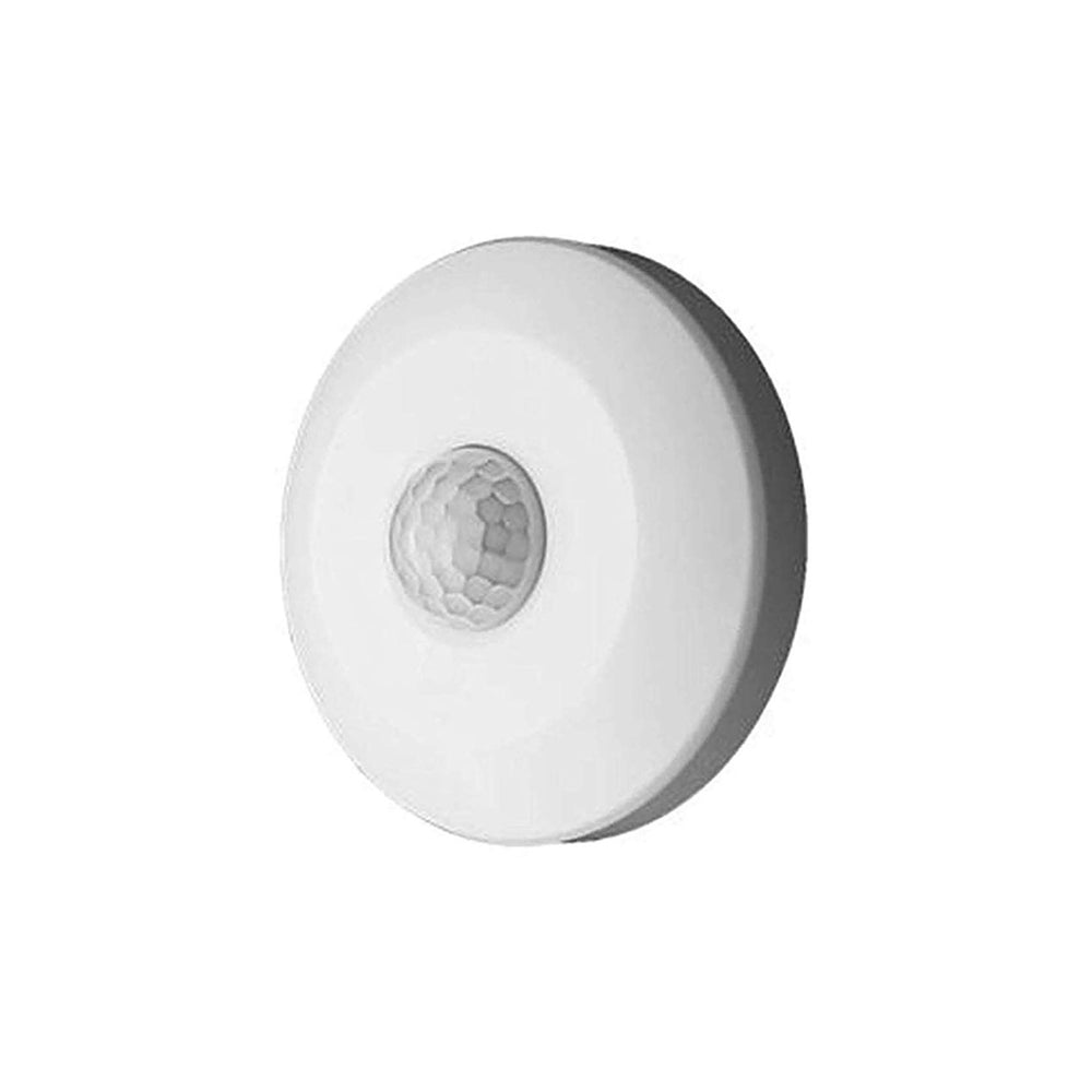Quick Sense (Qs-06): 360 Degree Mini PIR Motion Sensor 220V (White, Max 100W)