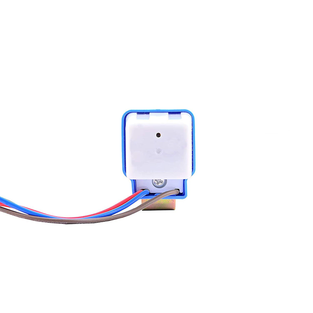 Quick Sense(QS-301): Waterproof 220 V Auto Day/Night on and Off Photocell, LDR Sensor Switch 6 A for Lighting (White)