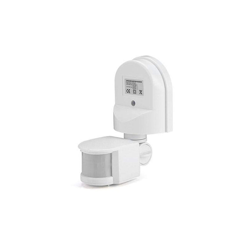 Quick Sense (Qs-11): 180` Wall-Mount PIR Motion Switch(Multiple Angle Rotatable) , White