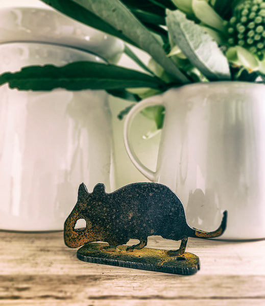 Bush Mouse Garden Art