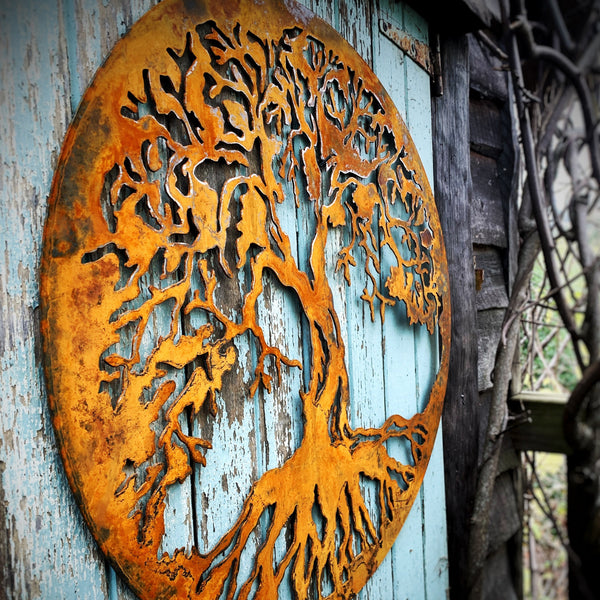 Wall Art - Tree of Life - Rust or Black