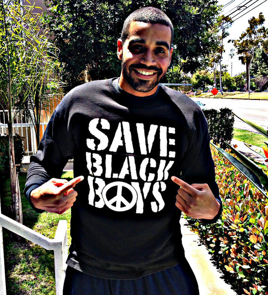 Save Black Boys™ Crew Neck Sweatshirt - Adult
