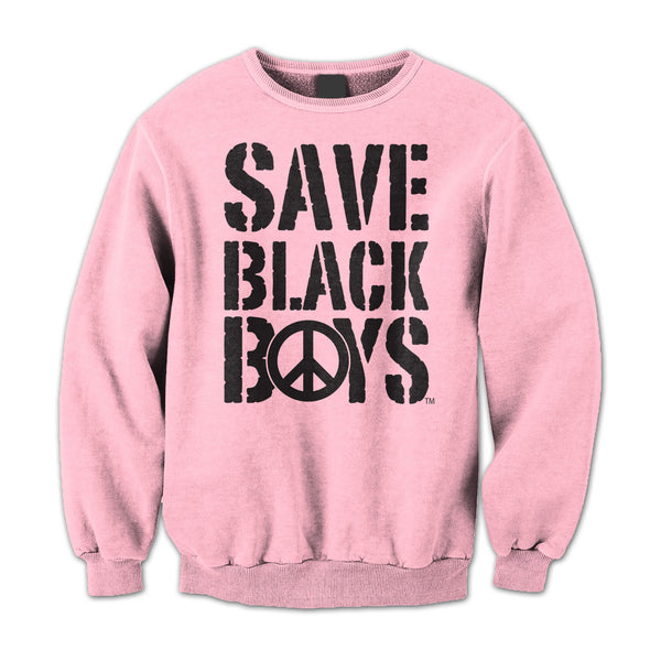 Save Black Boys™ Crew Neck Sweatshirt - Women