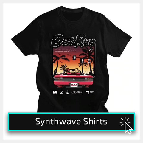 Synthwave shirts