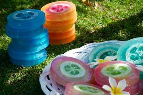 handmade soap dishes