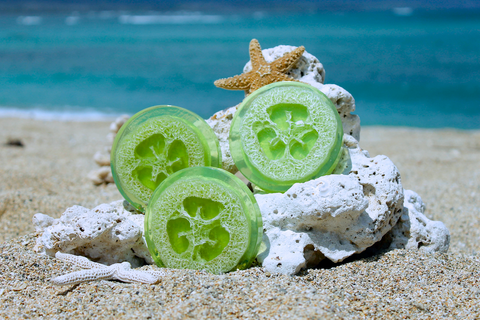 Makena Loofah Soap - Coconut-Lime