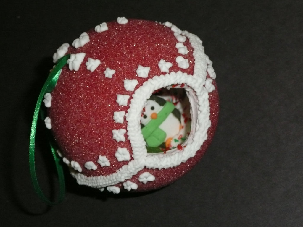 The other great use for Sugar...... Let me introduce the Sugar Ornament