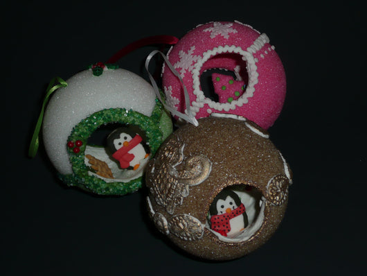 Sugar Christmas Ornaments