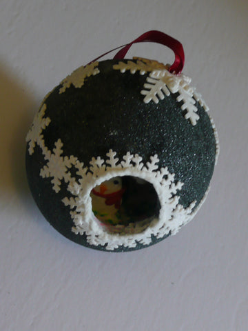 Black Sugar Ornament