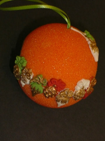 Orange Sugar Ornaments