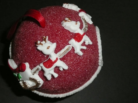 Red Sugar Ornament