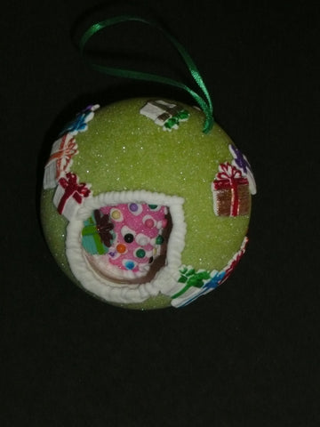 Green Sugar Ornament