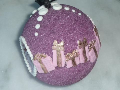Purple Sugar Ornament