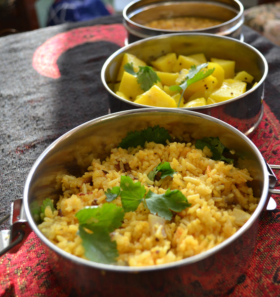 Maharashtrian Tadka Rice
