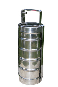5 Tier Long Handle Indian-tiffin Box