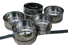Load image into Gallery viewer, 5 Tier Long Handle Indian-tiffin Box