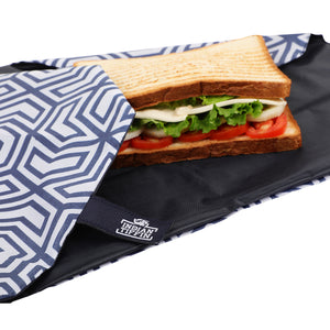 Grey Reusable Sandwich Wrap