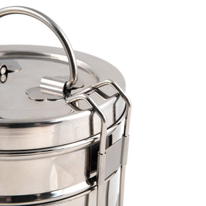 3 Tier Indian-Tiffin Stainless Steel Large Tiffin Lunch Box