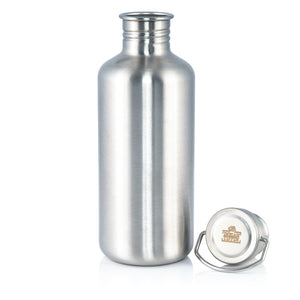 Stainless Steel Indian Tiffin Water Bottle 750ml
