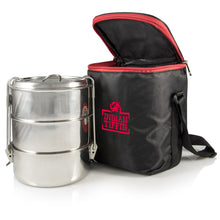 Load image into Gallery viewer, 3-tier Insulated Tiffin With Thermally Insulated Bag