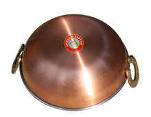 Load image into Gallery viewer, Copper Karahi Dish for serving curry