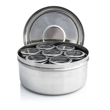Load image into Gallery viewer, Masala Dabba With Clear Lid Pots