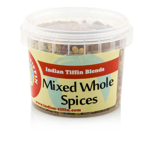 Selection Of 8 Premium Blended, Whole And Ground Spices