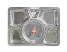 Load image into Gallery viewer, Indian-tiffin Rectangle Thali