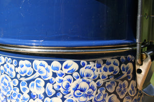Handpainted Kashmiri Blue 4-tier Tiffin