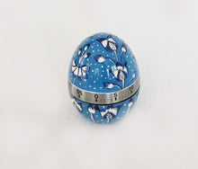 Load image into Gallery viewer, Handpainted Blue & White Egg