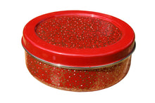 Load image into Gallery viewer, Red & Gold Designed Handpainted Masala Dabba