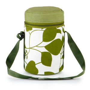 4 Tier Thermally Insulated Green Leaf Tiffin Carrier