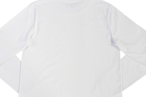 WHITE 25in2020 L/S T.SHIRT